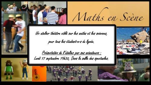 Atelier Maths en scène - 2012-2013